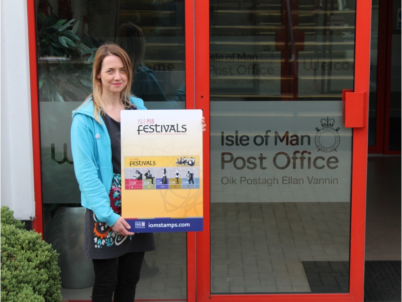 Manx Music Development Officer for Culture Vannin, Dr Chloe Woolley, at IOMPO HQ