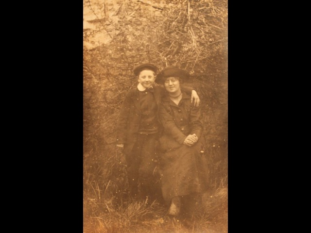 Arthur Shimmin (uncle) and Elsie Shimmin (mother)