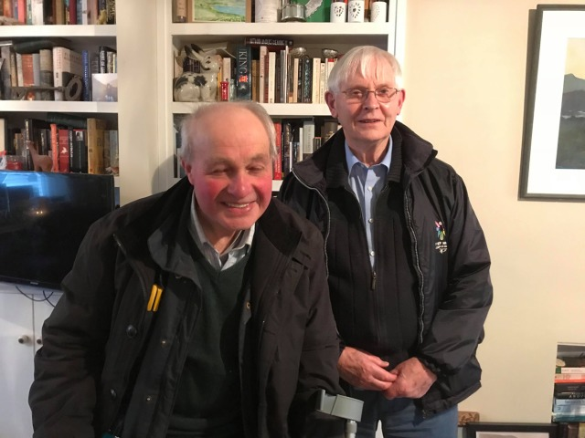 Stanley Quirk (left) & Keith Quirk (right).