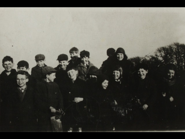 Tommy Cashen's brother Henry is third from the left, back row, and Tommy Cashen is next to him, fourth from the left.