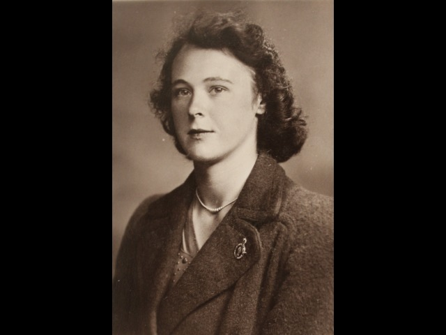 Ann Pickering in the early 1940s, at a time when she was serving in the Land Army.