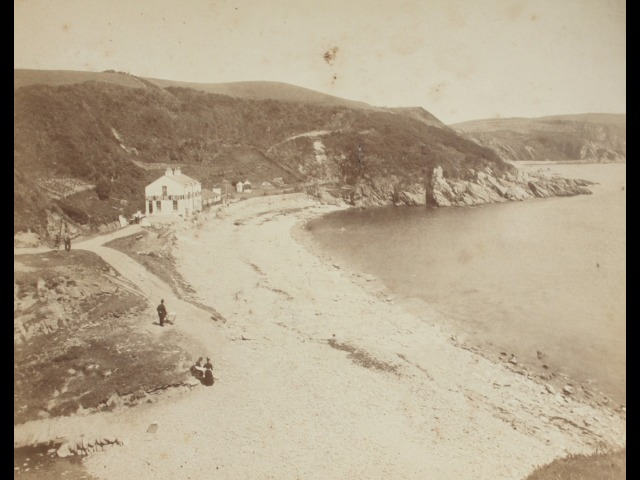 A picture of Port Soderick at the point that the Forrester brothers bought it, in 1896