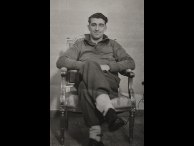 Hector Duff in his military uniform during WWII.