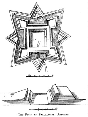The fort might have been based on a design like this one which was found in the British Museum.