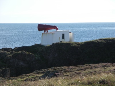 The Langness foghorn.